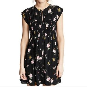 🌸🌼Free People Floral Mini Dress🌼🌸